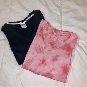 Victoria's Secret Pink Basic Tee Bundle of 2